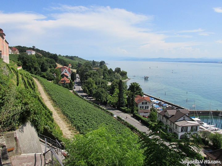 Places with a view in Meersburg at Lake Constance