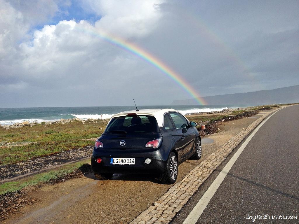 Cabo da Roca to Lisbon Roadtrip in Portugal