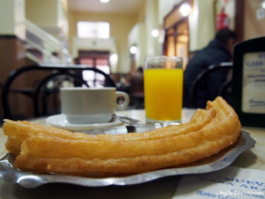 Churreria Casa Aranda in Malaga