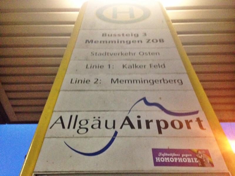 Memmingen Train Station to Airport Transfer (Allgäu Airport)