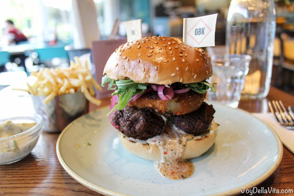 Falafel Burger by Gourmet Burger Kitchen London Westfield