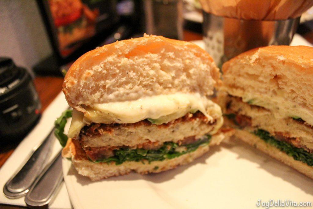 Hard Rock Cafe Cauliflower Burger