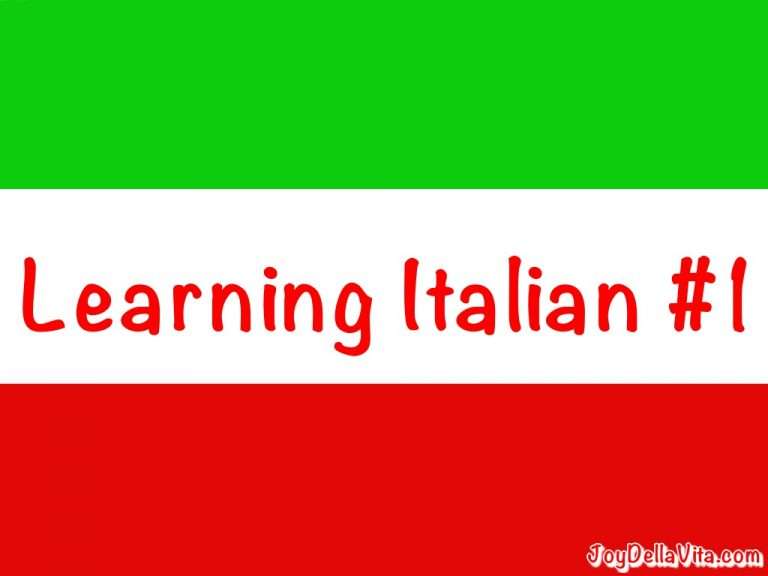 JoyDellaVita-LearningItalian-1