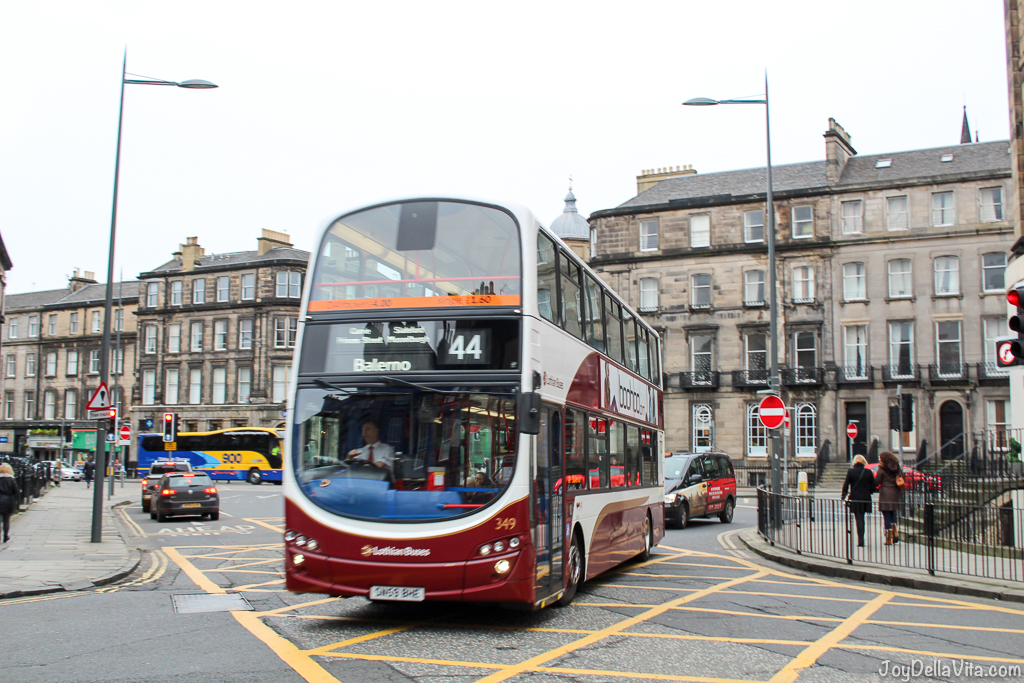 Public Transport in Edinburgh Scotland JoyDellaVita