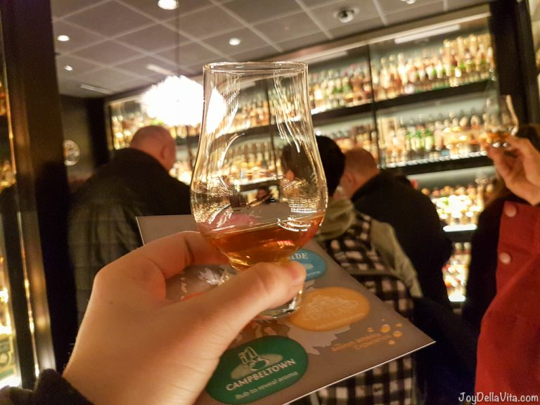 Scotch Whisky Experience Edinburgh JoyDellaVita
