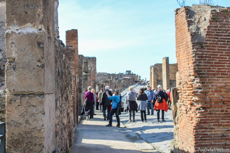 Video: Day Trip Pompeii in Winter Season