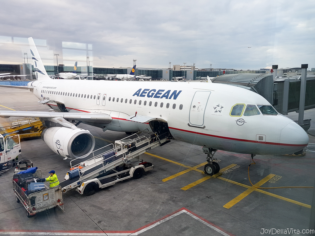 Aegean Airlines Review: Flight from Frankfurt to Heraklion ...
