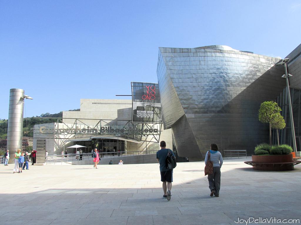 Quick visit to Guggenheim Bilbao
