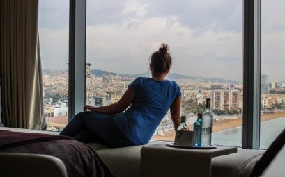 W Hotel in Barcelona / Room with sea and city view