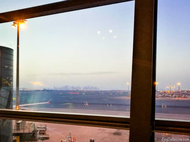 Doha Skyline Hamad International Airport Qatar Airways