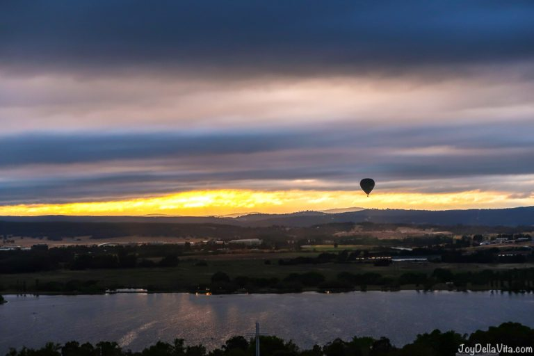 Hot Air Balloon Flight Canberra Balloon Aloft CanberraTogether Blog JoyDellaVita