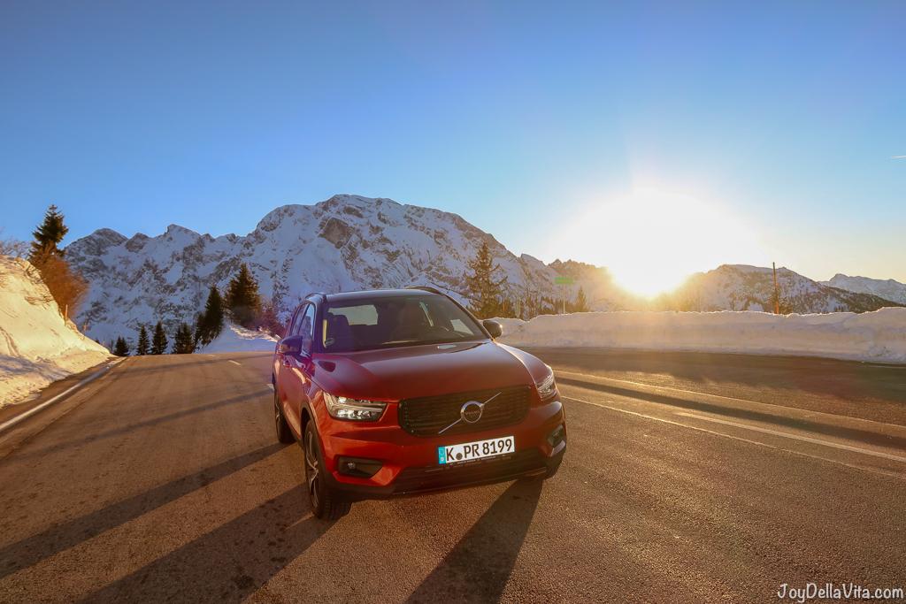 Volvo Xc40 Berchtesgaden Rossfeld Panoramastrasse Joy Della Vita Travelblog By Lisa