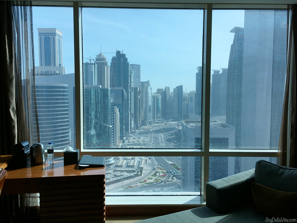 Staying at Intercontinental The City in Doha West Bay, Qatar