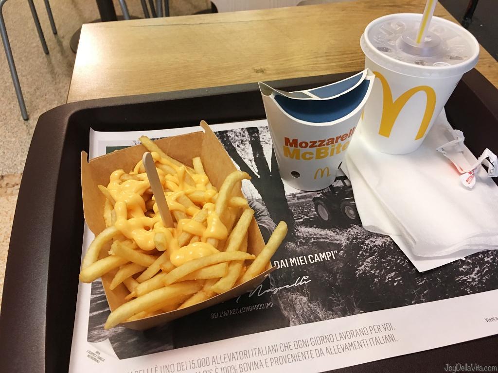 McDonalds Italy Vegetarian Fast Food Vegetariano