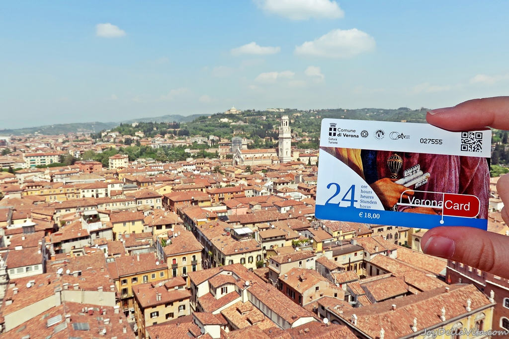 Verona Card Selling Points Where to buy Travel Blog Joy Della Vita