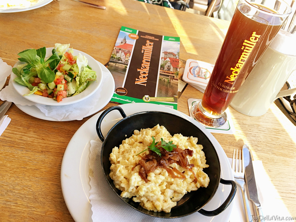 Käsespätzle Tübingen Gasthausbrauerei Neckarmüller
