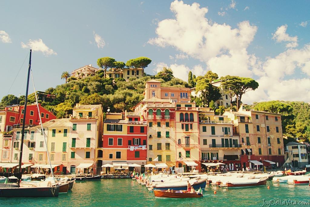 portofino sightseeing september fall off season