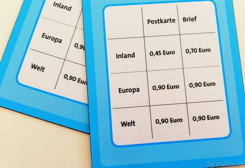 Costs to send a postcard from Germany to your home country   Joy