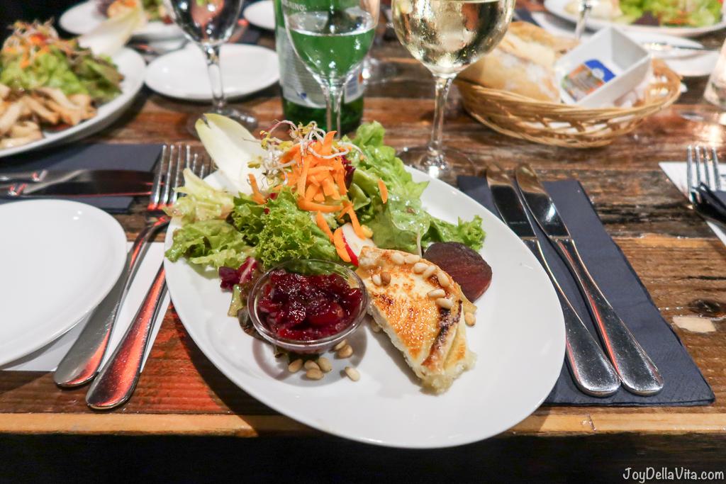 Dinner at Oosten Restaurant in Frankfurt with a stunning Mainhatten view