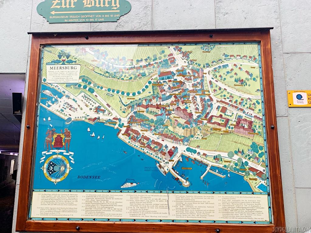 Meersburg travel blog joy della vita