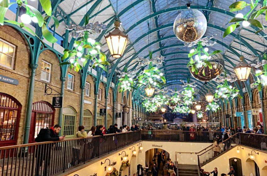 covent garden winter decorations 2019 2020 london