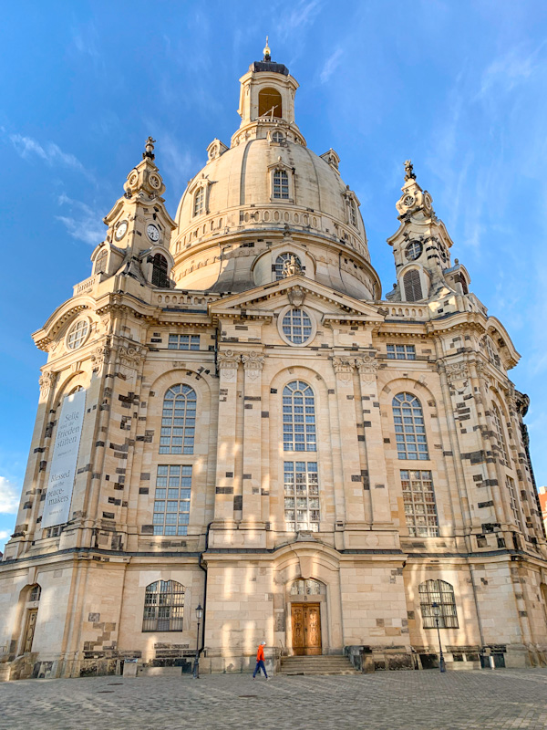 360 degree video tour of Frauenkirche Dresden including the climb to the dome