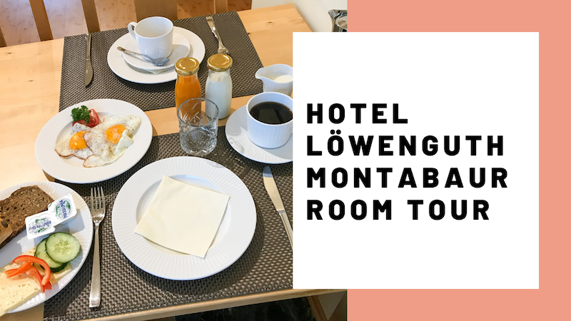 Hotel Loewenguth Montabaur Room Tour JoyDellaVita Travelblog YouTube Video