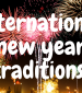 International New Year's Traditions