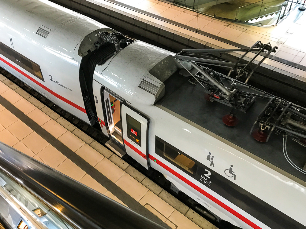 What to do if WiFi in a german ICE train does not work/does not connect to your device