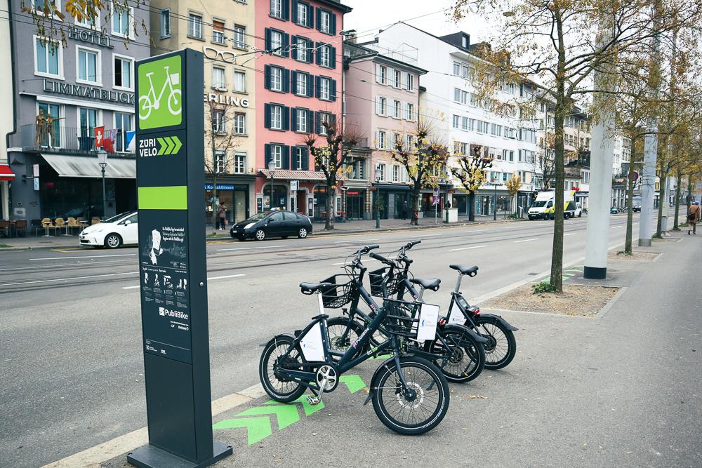 Public Bike Sharing in Zurich