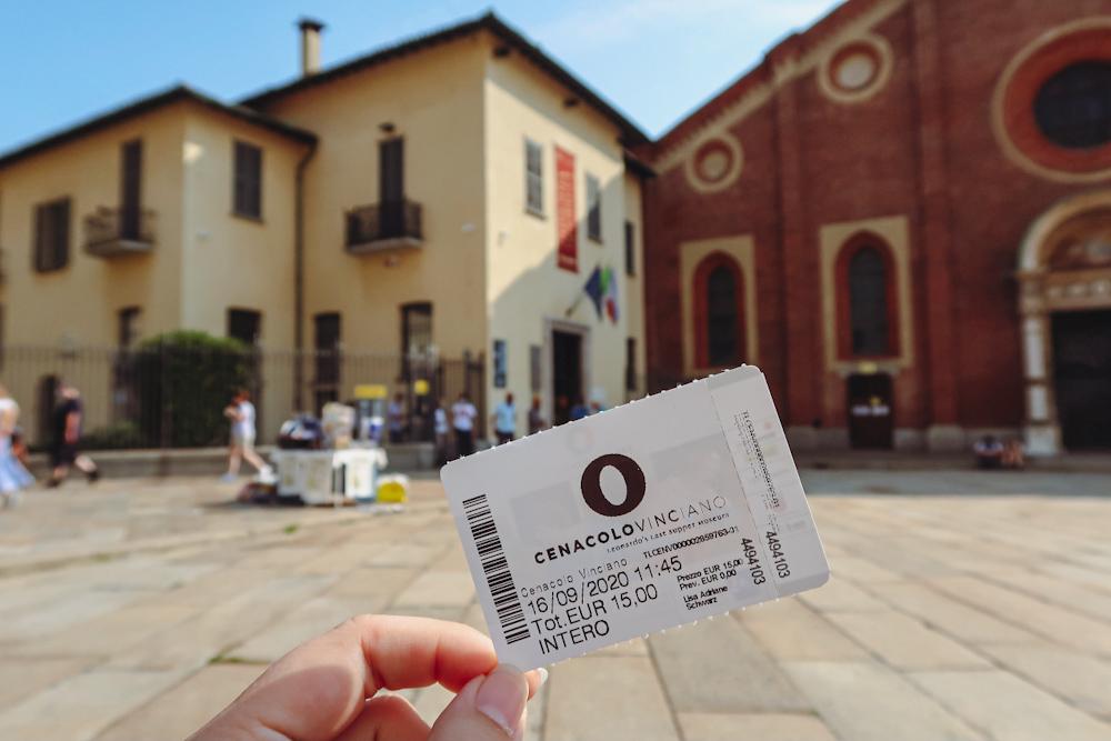 Where to buy Da Vinci The Last Supper Tickets