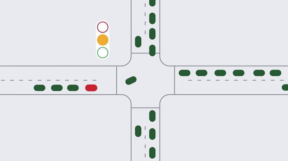 Google sustainable Traffic Light AI