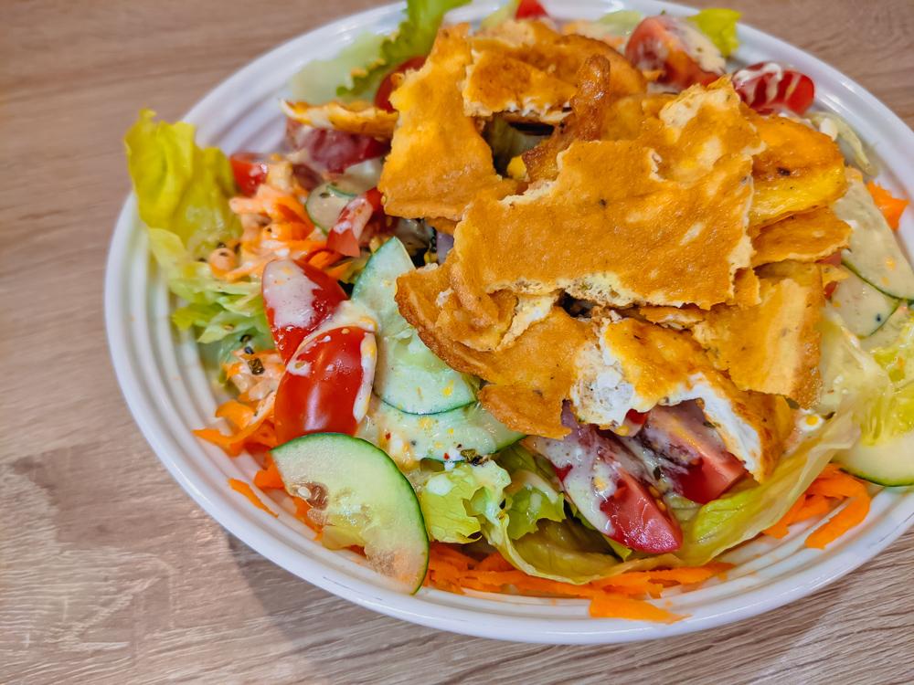 Omelette Salad Recipe JoyDellaVita Blog